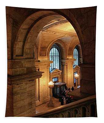 Library Overlook Tapestry