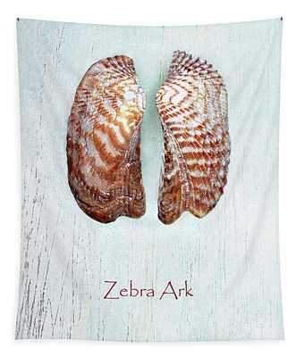 Zebra Ark Tapestry