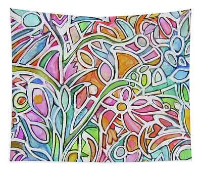 Zentangle Garden Tapestry