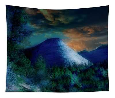 Zion The Great White Throne Tapestry