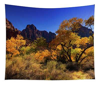 Zions Beauty Tapestry