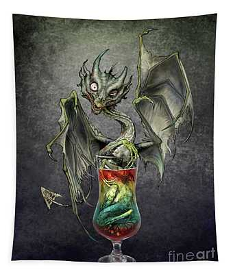 Zombie Dragon Tapestry