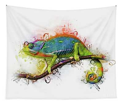 Designs Similar to Chameleon Art by Ian Mitchell
