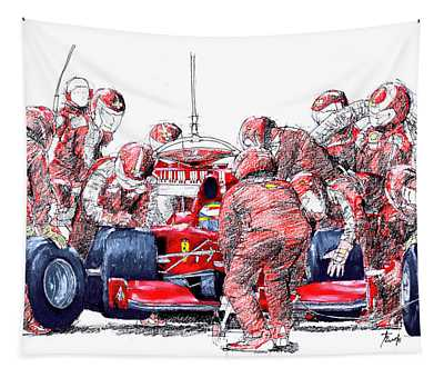 Vintage Cars Tapestries