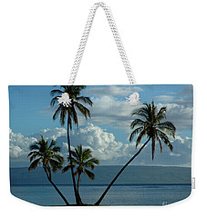 A Little Bit Of Paradise Weekender Tote Bag by Vivian Christopher