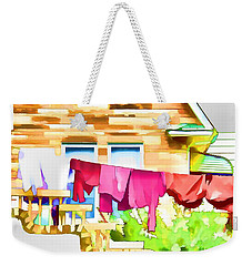 A Summer's Day - Digital Art Weekender Tote Bag by Robyn King