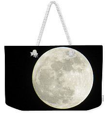 A Winter'sfullmoon Over Ga Weekender Tote Bag by Aaron Martens