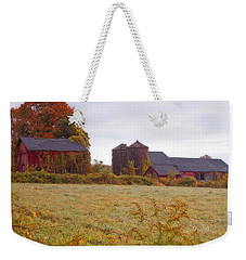 Abandoned Connecticut Farm  Weekender Tote Bag
