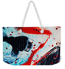 Abstract Original Artwork One Hundred Phoenixes Untitled Number Fifteen Weekender Tote Bag