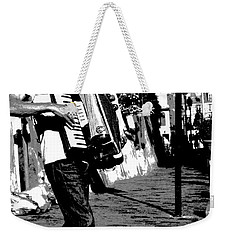 Accordioniste Weekender Tote Bag