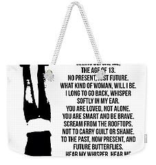 Age 13 Weekender Tote Bag