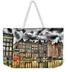 Amsterdam Water Canals Weekender Tote Bag