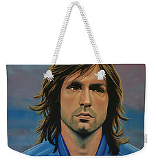 Andrea Pirlo Weekender Tote Bag by Paul Meijering