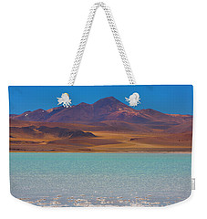 Atacama Salt Lake Weekender Tote Bag