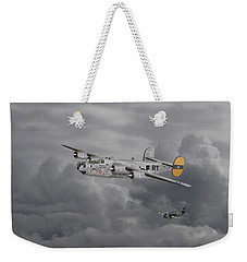 B24 Liberator  446th Bomb Group Weekender Tote Bag