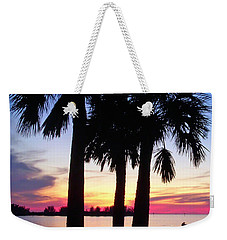 Beach Sunset Weekender Tote Bag by Aimee L Maher Photography and Art Visit ALMGallerydotcom