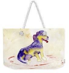Beagle Bright Weekender Tote Bag