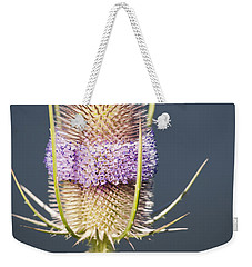 Beautiful Flowering Teasel Weekender Tote Bag