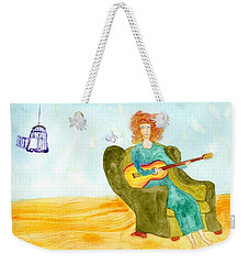 Bird Song Weekender Tote Bag