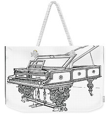 Bosendorfer Centennial Grand Piano Weekender Tote Bag