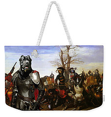 Cane Corso Art Canvas Print - Swords And Bravery Weekender Tote Bag