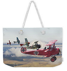 Circus Comes To Town Weekender Tote Bag
