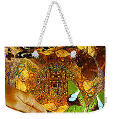 Civitate Dei   City Of God  Weekender Tote Bag by Joseph Mosley