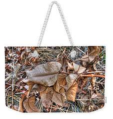 Dead Leaves Weekender Tote Bag by Michelle Meenawong