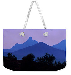 Desert Mountains Weekender Tote Bag