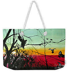Doves At The Dawn Weekender Tote Bag