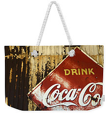 Drink Coca Cola  Memorbelia Weekender Tote Bag