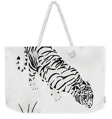 Weekender Tote Bag featuring the painting  Drinking By Moonlight by Stephanie Grant