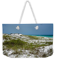 Weekender Tote Bag featuring the photograph  Dunes    Panama City Beach  by Susan  McMenamin