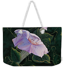 First  Trumpet Flower  Of Summer Weekender Tote Bag