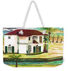 Fort Lauderdale Waterway Weekender Tote Bag
