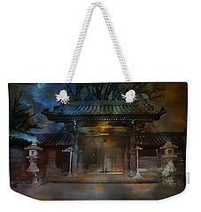 Gate..asian  Moon. Weekender Tote Bag