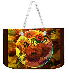 Van Globing Inflorescence Weekender Tote Bag