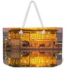 Golden Temple In Amritsar - Punjab - India Weekender Tote Bag