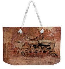 Grandpa's Old Tractor Weekender Tote Bag by EricaMaxine  Price