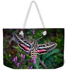 Hummingbird Moth Print Weekender Tote Bag