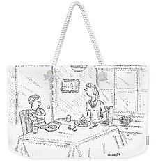 I Say It's Government Mandated Broccoli Weekender Tote Bag