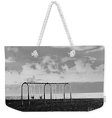 Weekender Tote Bag featuring the photograph  I See Trees... by Fei A