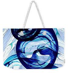 Immiscible Weekender Tote Bag by Anastasiya Malakhova