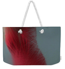 In Red Weekender Tote Bag