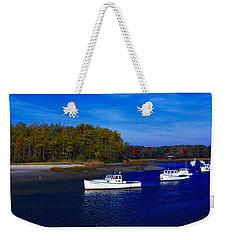 Kennnepunkport Harbor  Maine  Weekender Tote Bag