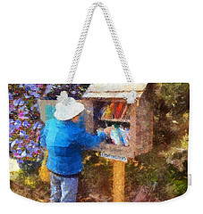 Alameda  Little Free Library Weekender Tote Bag