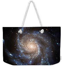 Messier 101 Weekender Tote Bag by Barbara McMahon