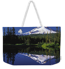 Weekender Tote Bag featuring the photograph  Mount Hood Oregon  by Paul Fearn