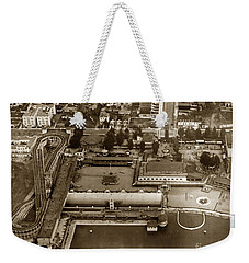 Neptune Beach Olympic Size Swimming Pool And A Roller Coaster Alameda Circa 1920 Weekender Tote Bag
