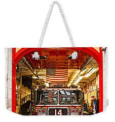 New York Fire Department Engine 14 Weekender Tote Bag